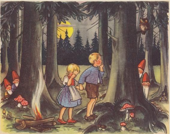 Dạy con biết trân quý sinh mệnh qua truyện cổ Grimm Hansel và Gretel.2