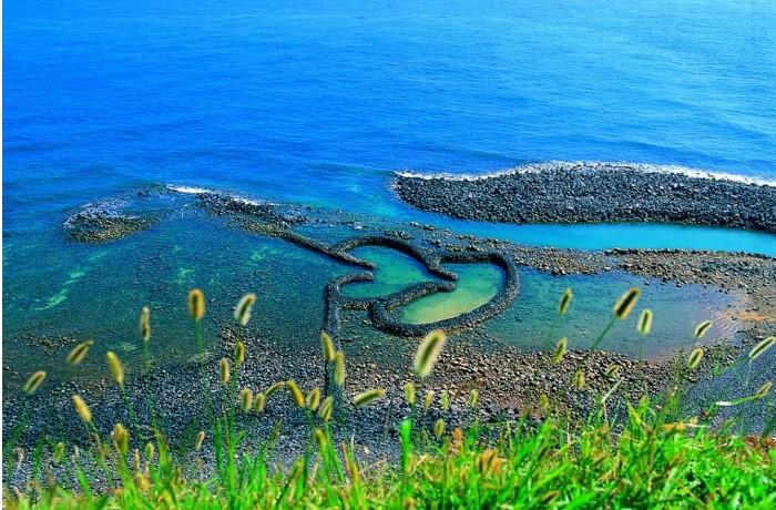 Đảo Qimei – Đảo trăng mật với cảnh quang tuyệt đẹp