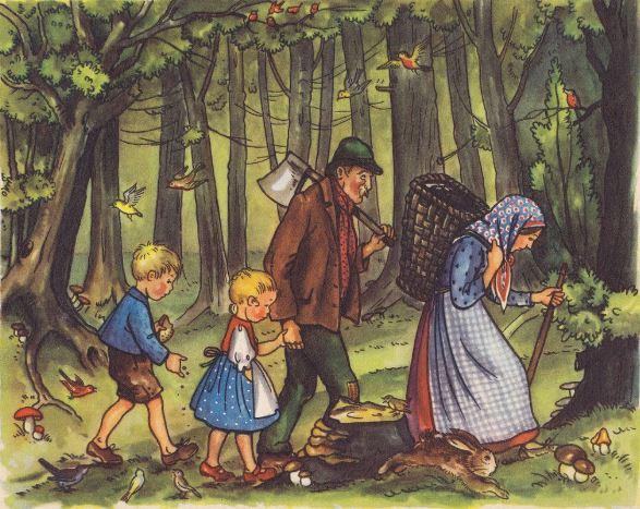 Truyện cổ Grimm: Hansel và Gretel - H1