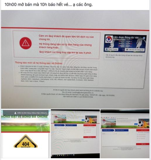"""Cư dân mạng """"dậy sóng"""", mở bán 20.000 vé nhưng sau 14 phút đã thông báo hết"""