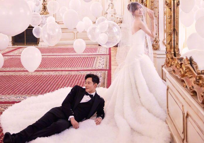 Đám cưới Đường Yên - La Tấn gây sốt với bộ áo cưới truyền thống thêu chỉ vàng - H2