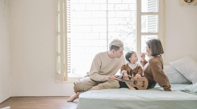 Gia đình hạnh phúc, bắt đầu từ cách nói chuyện - H1
