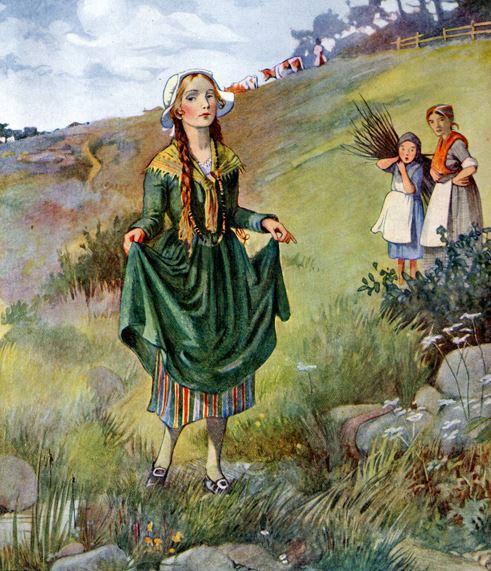 Câu chuyện kể về cô bé Inger nhà nghèo nhưng lại tự cao tự đại.