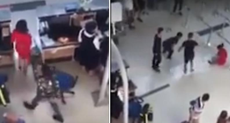 Nữ nhân viên Vietjet Air bị đám thanh niên hành hung vì không chịu chụp hình chung