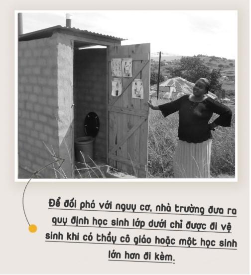 Thảm kịch nhà vệ sinh trường học và nỗi đau ám ảnh cả đất nước Nam Phi.7