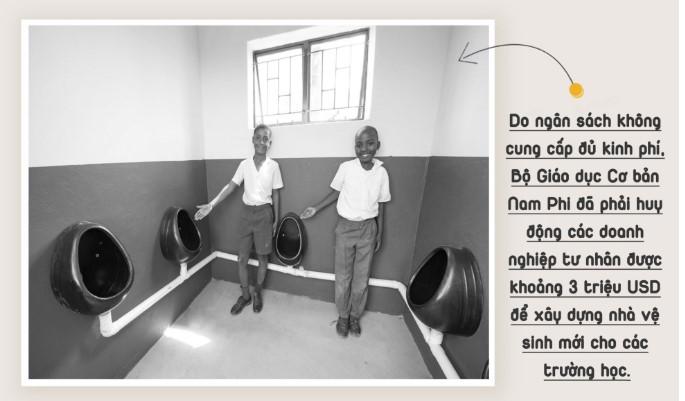 Thảm kịch nhà vệ sinh trường học và nỗi đau ám ảnh cả đất nước Nam Phi.8