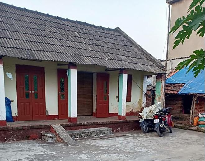 Căn nhà nhỏ của đôi vợ chồng trẻ.
