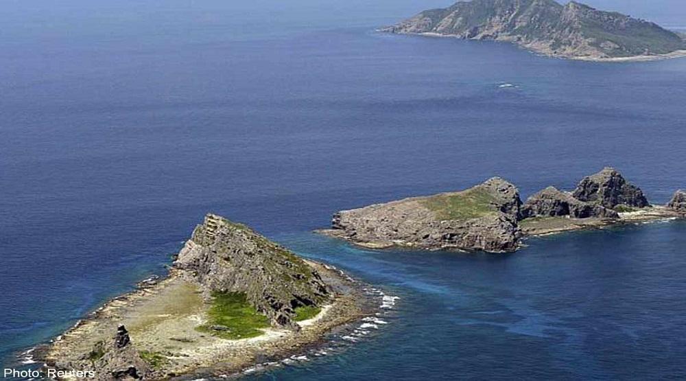 Nhật bản và Trung Quốc trên biển Hoa Đông.(Nguồn: Internet)