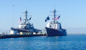Mỹ cử 2 tàu chiến qua Đài Loan, thách thức Trung Quốc