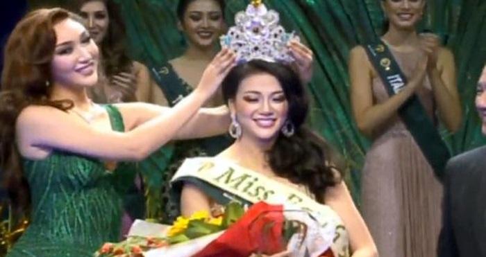 Nguyễn Phương Khánh: Người đẹp Bến Tre đăng quang Hoa hậu Trái đất 2018