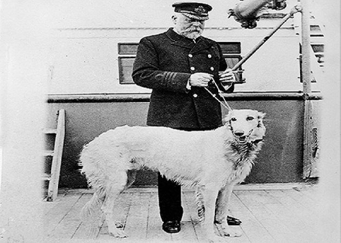 Thuyền trưởng tàu Titanic.(Ảnh: Internet)