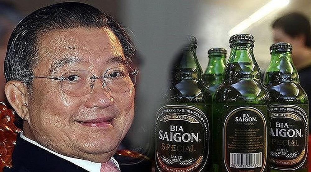 Năm 2018, tỷ phú Thái thu về gần 2.400 tỷ đồng tiền tươi từ Sabeco. (Nguồn: Internet)
