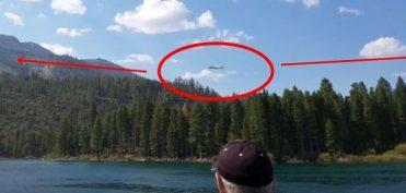 Video sắc nét về UFO được du khách quay lại tại hồ Tahoe Mỹ