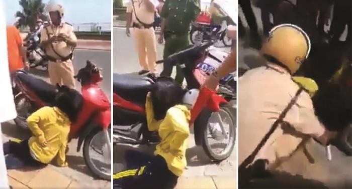 Phú Yên: CSGT để súng 'cướp cò', cô gái 18 tuổi bị thương