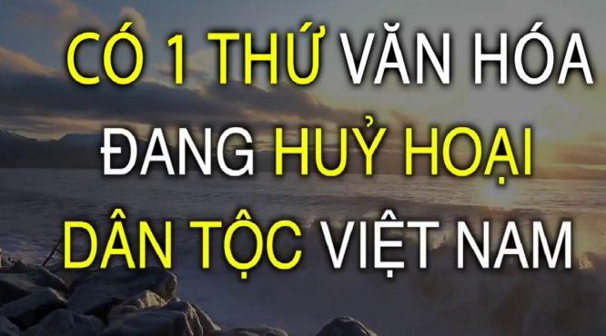có một thứ văn hóa đang kìm hãm sức mạnh của người Việt.