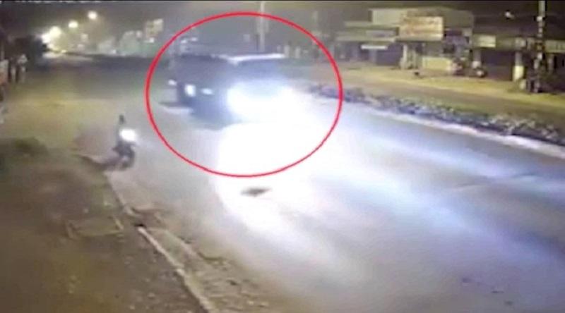 Hình ảnh xe bồn trước khi tai nạn được lưu lại. (Ảnh: Internet)