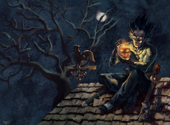 Thần thoại về bí ngô 'Jack O'Lantern' và ánh sáng bí ẩn.2
