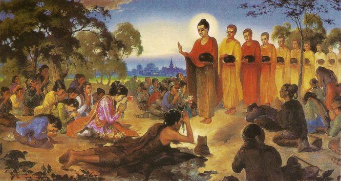 Ý nghĩa của điển tích 'Mượn hoa dâng Phật'? Ảnh 1