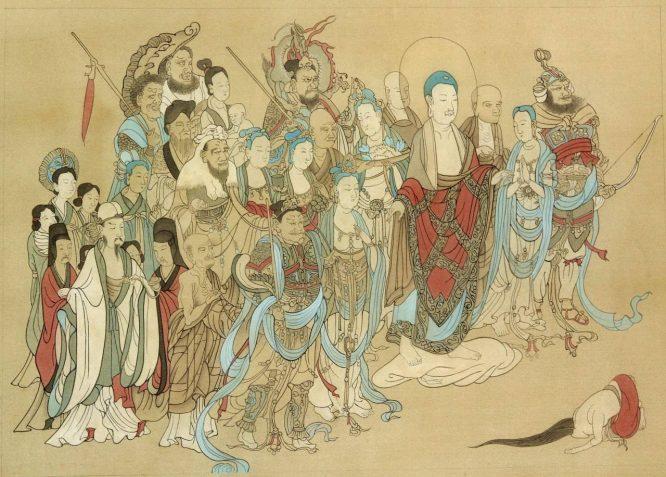 Thành ngữ 'Mượn hoa dâng Phật' và truyền thuyết xa xưa.2