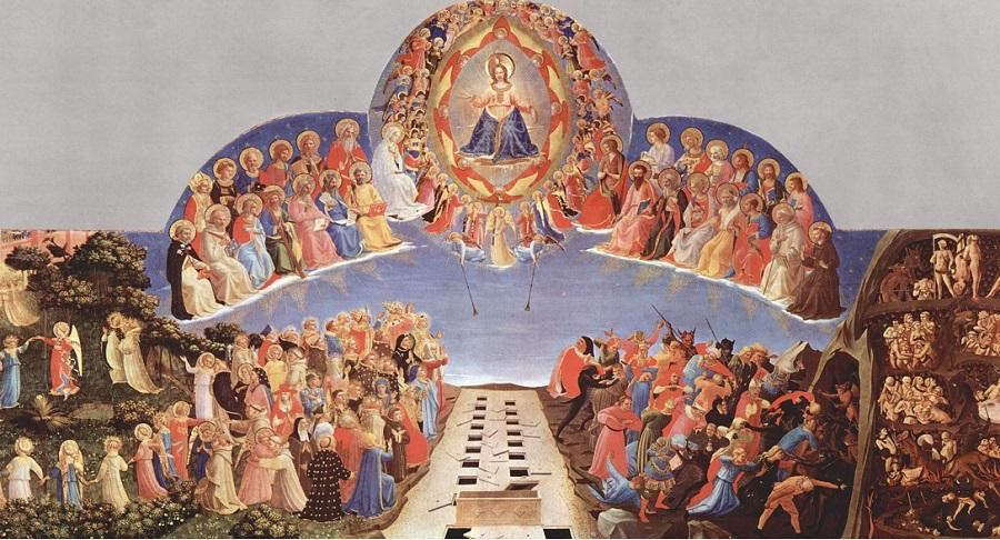 Ngày tận thế và sự kiện Đại Thẩm Phán trong hội họa thời kỳ Phục Hưng. Ảnh 1