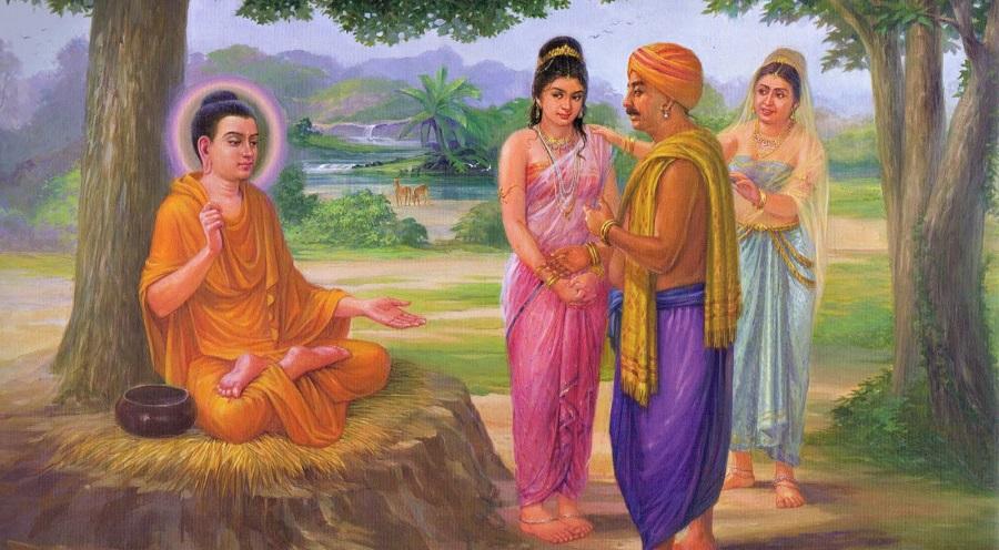Chuyện cổ Phật gia: Phật giảng thế nào về 'kiểu vợ như người hầu'?. Ảnh 1