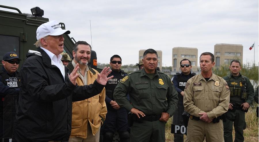 Bức tường biên giới Mỹ-Mexico đang được Mexico trả tiền?. Ảnh 1