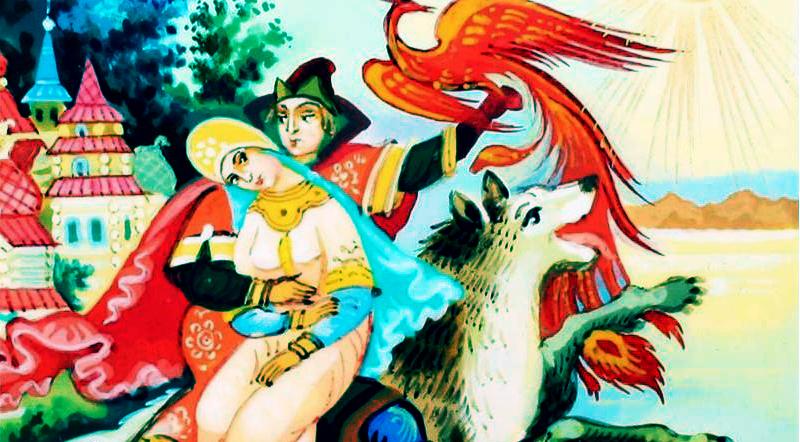 Truyền thuyết về anh hùng Ivan Tsarevich, con Chim Lửa và Sói Xám