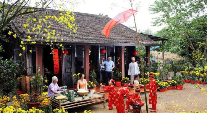 Phong tục ngày Tết cổ truyền ở các nước Châu Á.1