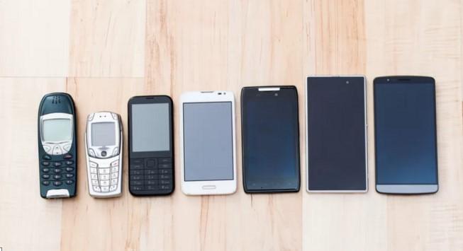 Những bước đột phá trong lịch sử smartphone