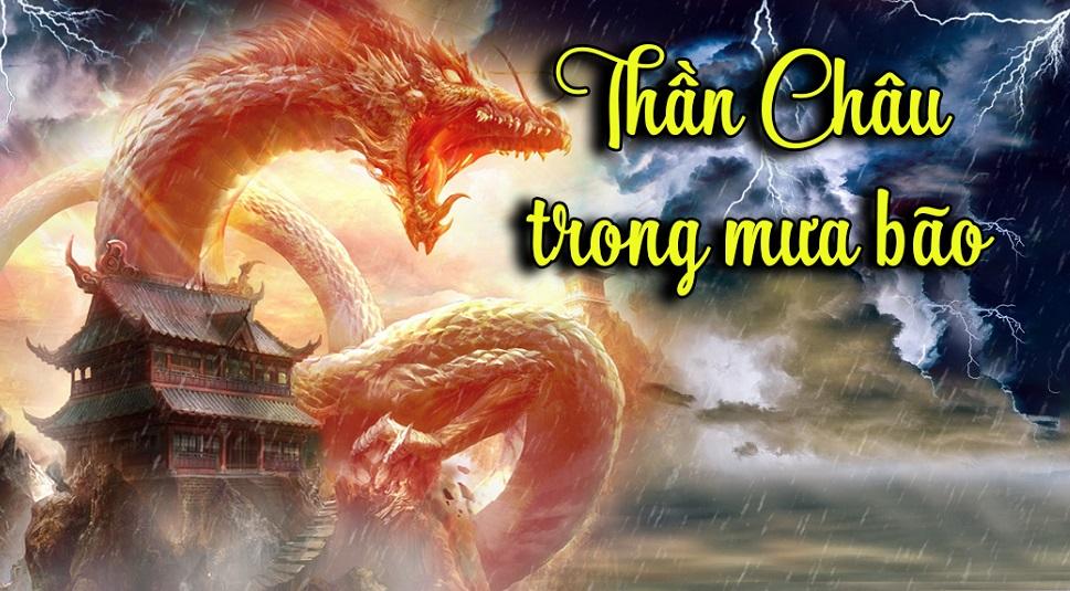Con rồng đỏ cùng ma vương đã gây bao tội ác, đẩy Thần Châu vào thời kỳ đen tối nhất trong lịch sử nhân loại. (Ảnh: t/h)