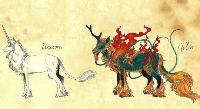 Hình tượng Kỳ Lân trong thần thoại và truyền thuyết Á Đông - H1