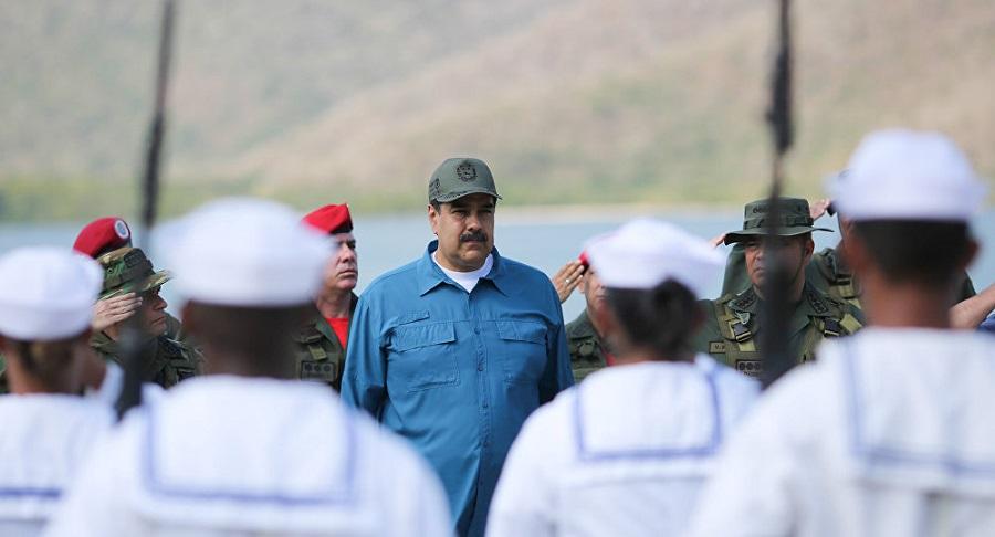 Mỹ trực tiếp liên hệ với quân đội Venezuela, thúc giục họ phản kháng Maduro. Ảnh 1