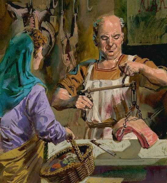 Bảo vệ sức khỏe theo chế độ ăn uống của người Hy Lạp cổ. 2