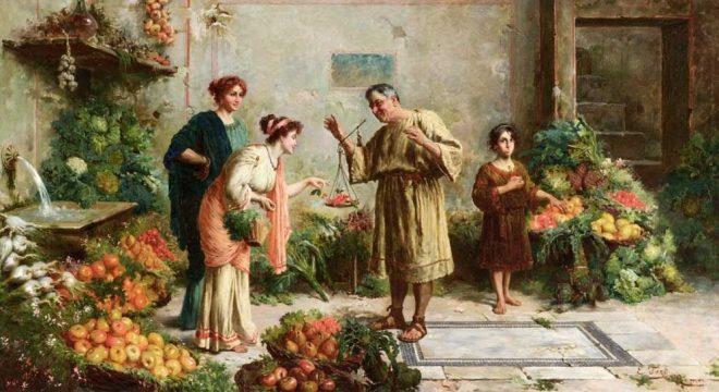 Bảo vệ sức khỏe theo chế độ ăn uống của người Hy Lạp cổ. 1
