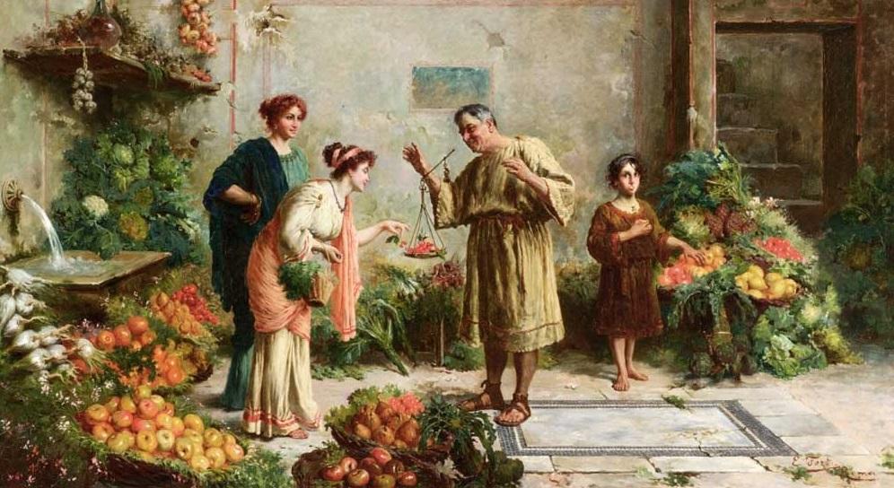 Bảo vệ sức khỏe theo chế độ ăn uống của người Hy Lạp cổ