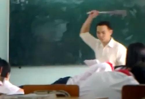 Thầy giáo thừa nhận đánh vẹo cột sống học sinh vì không thuộc bài