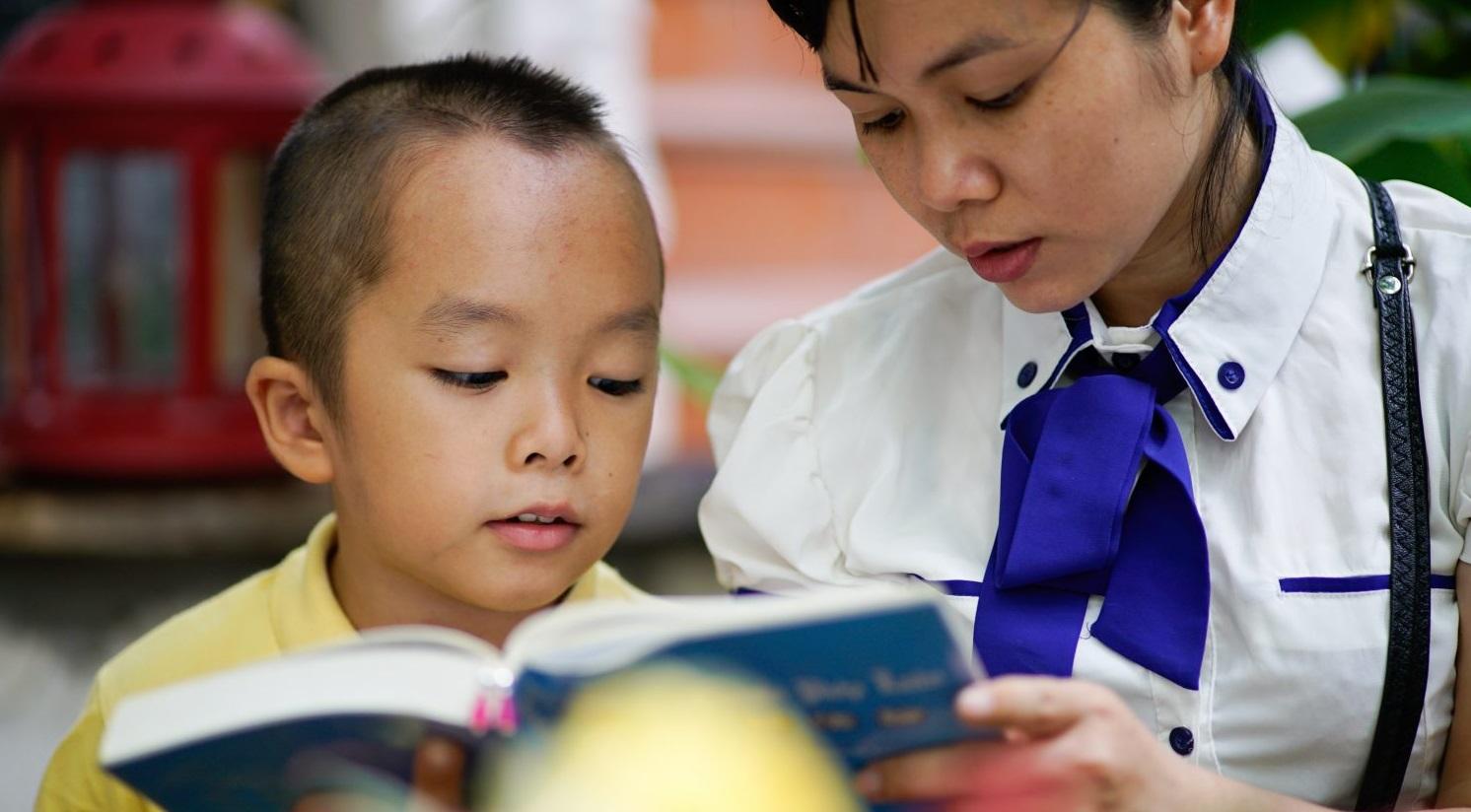 Cậu bé 9 tuổi chăm ngoan, học giỏi nhờ sống theo Chân – Thiện – Nhẫn
