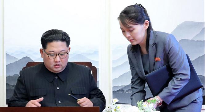 Em gái sẽ tháp tùng ông Kim Jong Un tới Hà Nội? Ảnh 1