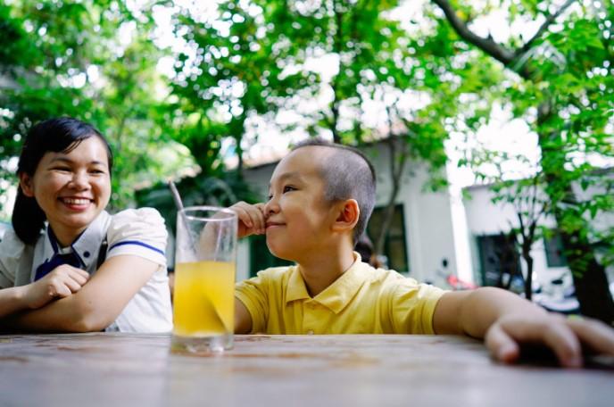 Cậu bé 9 tuổi chăm ngoan, học giỏi nhờ sống theo Chân - Thiện - Nhẫn - H3