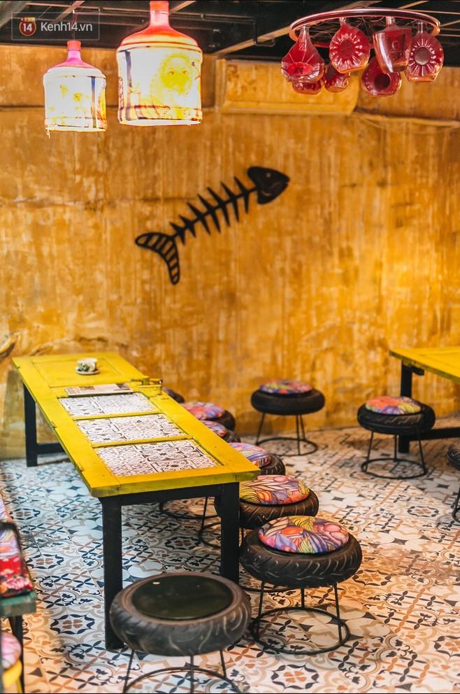 Quán cà phê tái chế lớn nhất Hà Nội: Ý tưởng bắt nguồn từ làng ung thư.5