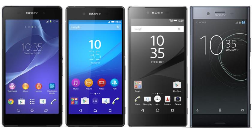 Smartphone Sony đang mất dần sự phổ biến?