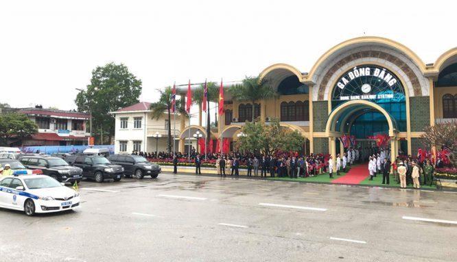 Tường thuật trực tiếp buổi lễ đón Kim Jong-un tại Lạng Sơn - H1
