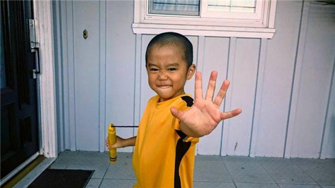 'Truyền nhân của Lý Tiểu Long': Biết múa côn nhị khúc từ năm 4 tuổi!8