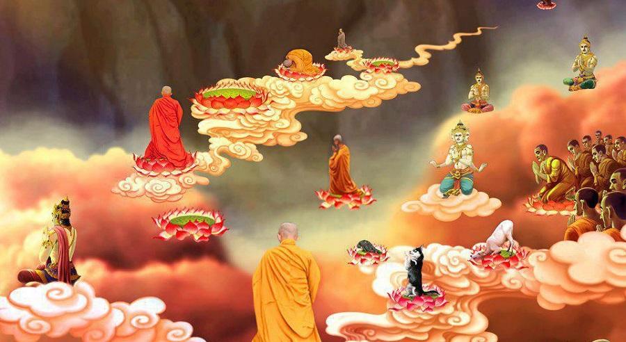 Thân tộc Phật Thích Ca tới Đại Đường dùng thần thông giúp vua cầu mưa