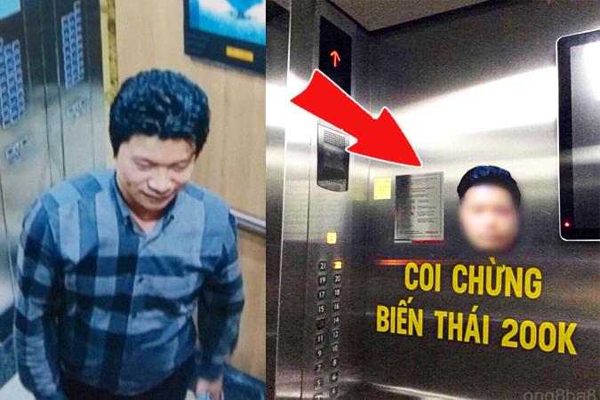 Bất bình vì án phạt 200 ngàn đồng, cư dân mạng hô hào dán hình kẻ sàm sỡ nữ sinh lên thang máy