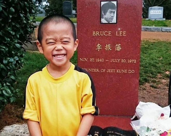 'Truyền nhân của Lý Tiểu Long': Biết múa côn nhị khúc từ năm 4 tuổi!9