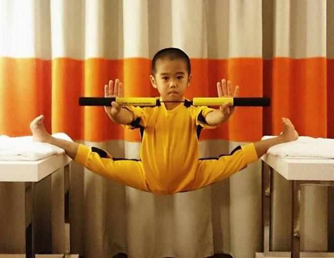 'Truyền nhân của Lý Tiểu Long': Biết múa côn nhị khúc từ năm 4 tuổi!2