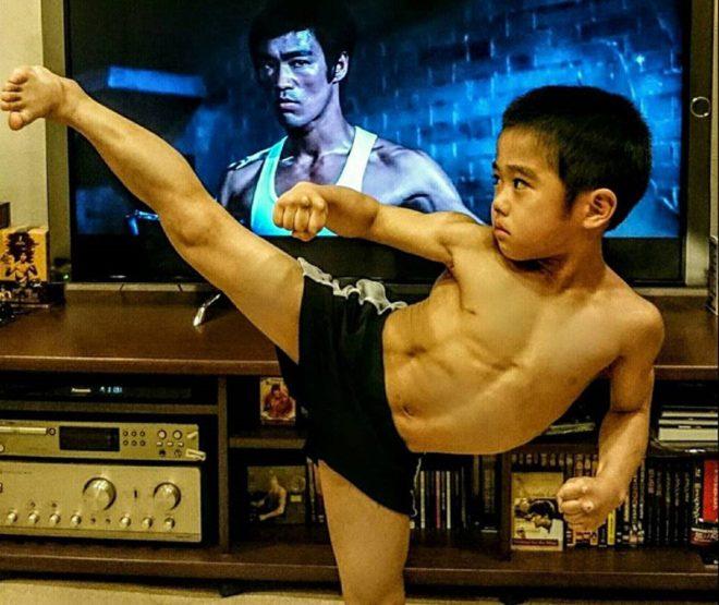 'Truyền nhân của Lý Tiểu Long': Biết múa côn nhị khúc từ năm 4 tuổi!3