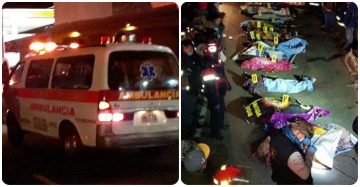 Video: 32 người bị xe tải đâm tử vong khi đứng xem tai nạn xe hơi