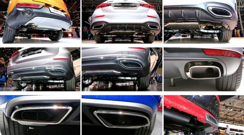 """Những thiết kế """"ống xả giả cầy"""" của những hãng xe nổi tiếng"""